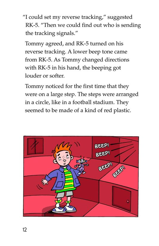 Book Preview For Tommy's Disastrous Day Page 12