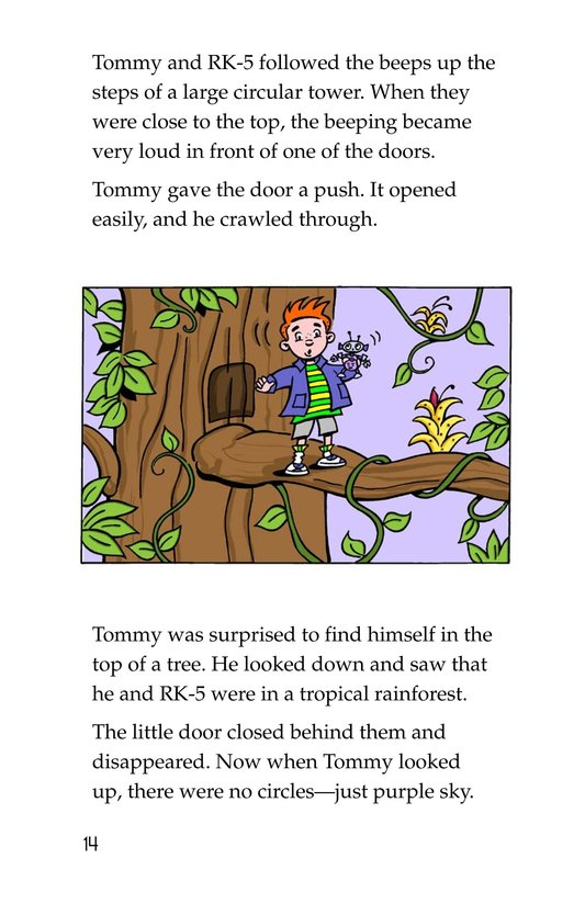 Book Preview For Tommy's Disastrous Day Page 14