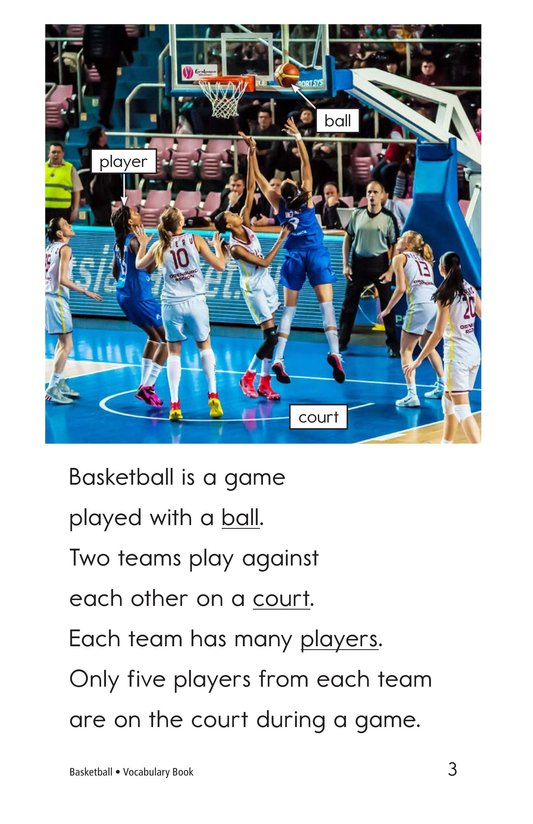 Book Preview For Basketball Page 3