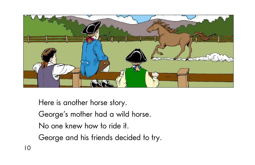 Book Preview For Childhood Stories of George Washington Page 10