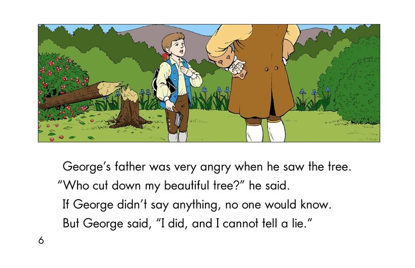 Book Preview For Childhood Stories of George Washington Page 6