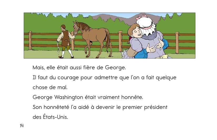 Book Preview For Childhood Stories of George Washington Page 14