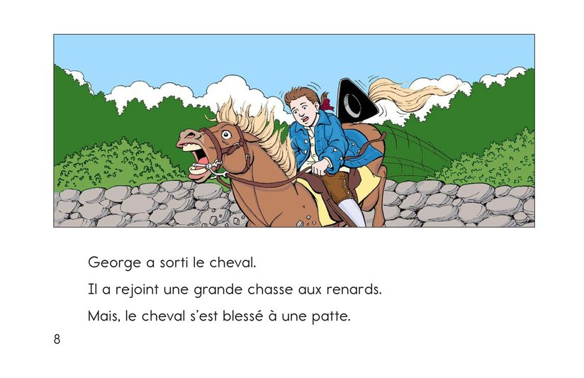Book Preview For Childhood Stories of George Washington Page 8