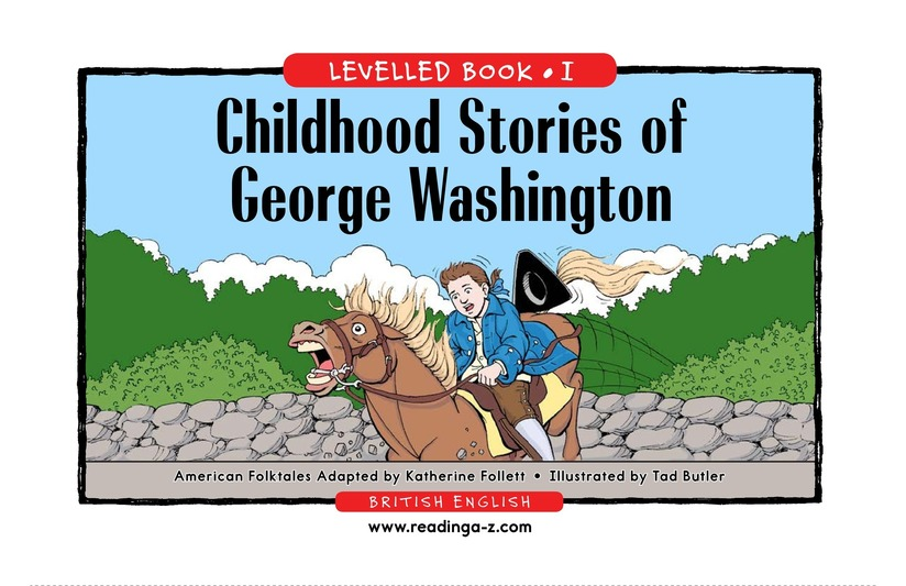 Book Preview For Childhood Stories of George Washington Page 1