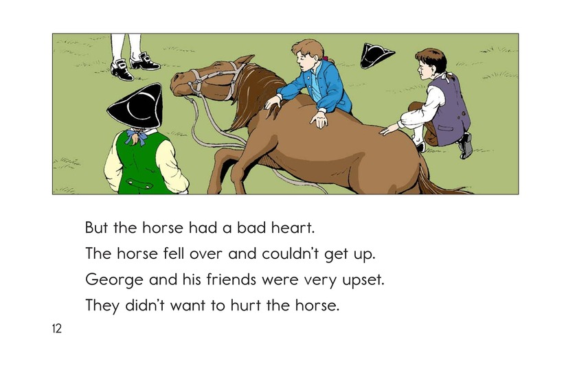 Book Preview For Childhood Stories of George Washington Page 12