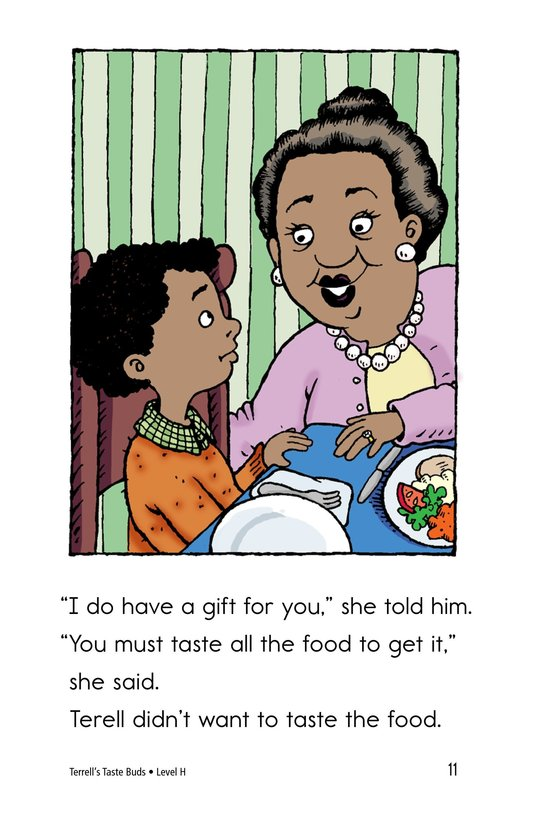 Book Preview For Terell's Taste Buds Page 11