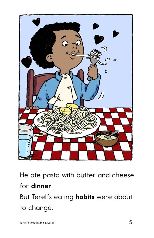 Book Preview For Terell's Taste Buds Page 5