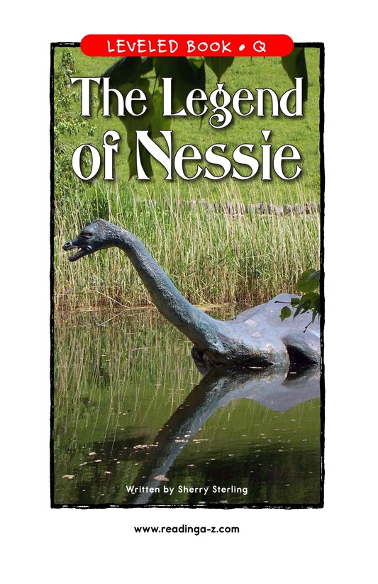 Book Preview For The Legend of Nessie Page 1