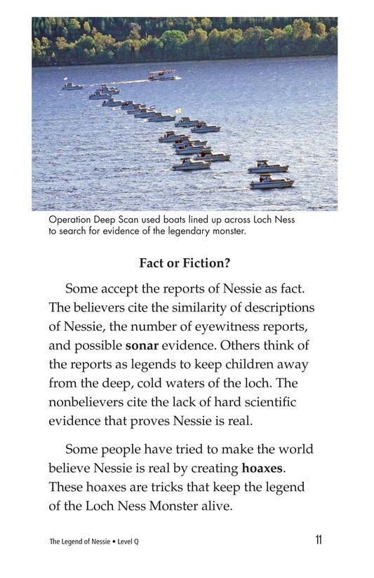 Book Preview For The Legend of Nessie Page 11
