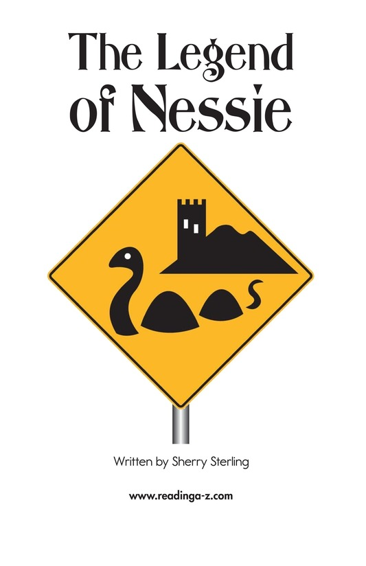 Book Preview For The Legend of Nessie Page 2