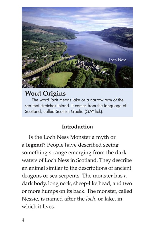 Book Preview For The Legend of Nessie Page 4