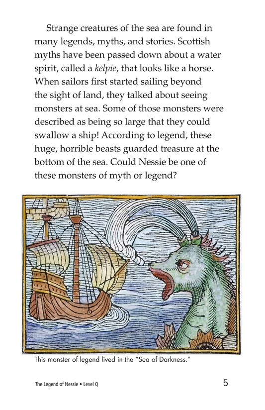 Book Preview For The Legend of Nessie Page 5