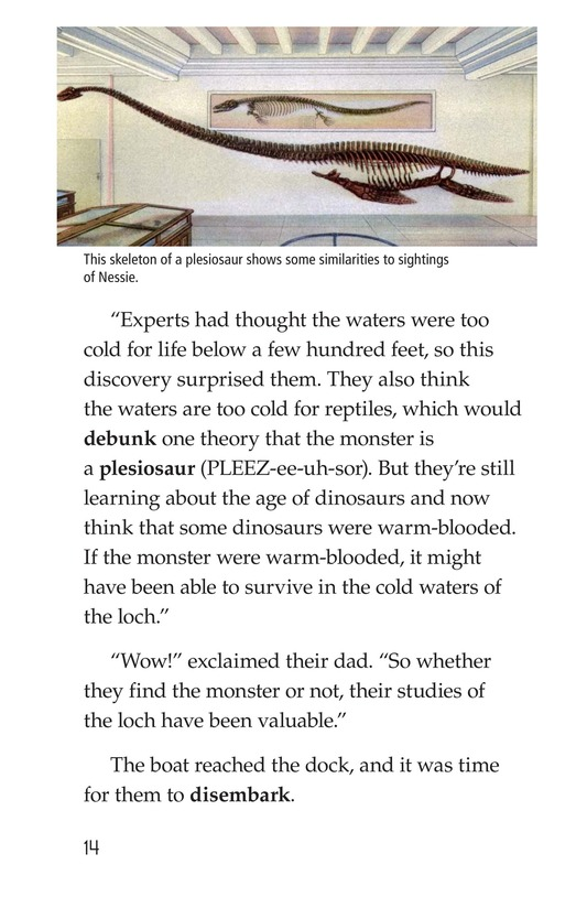 Book Preview For Searching for the Loch Ness Monster Page 14