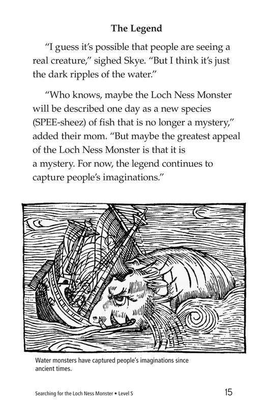 Book Preview For Searching for the Loch Ness Monster Page 15