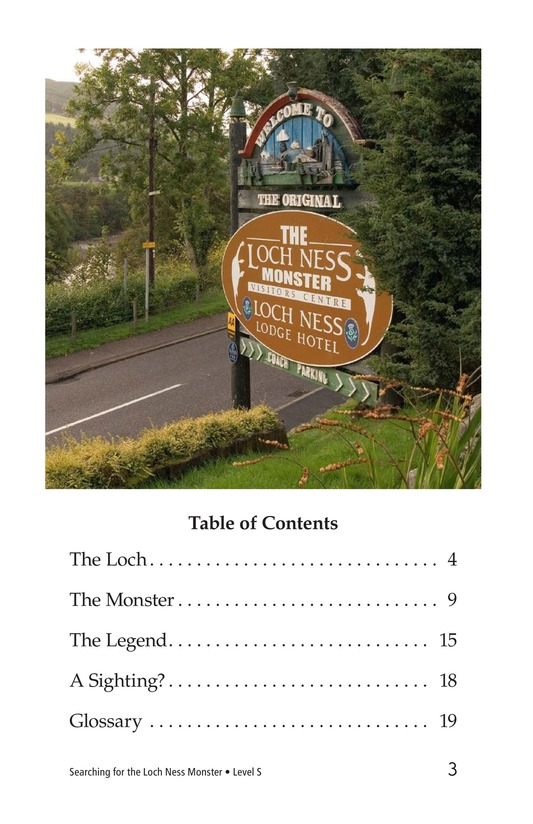 Book Preview For Searching for the Loch Ness Monster Page 3