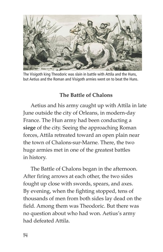 Book Preview For The Roman Empire Faces Attila Page 14