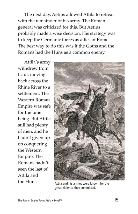 Book Preview For The Roman Empire Faces Attila Page 15