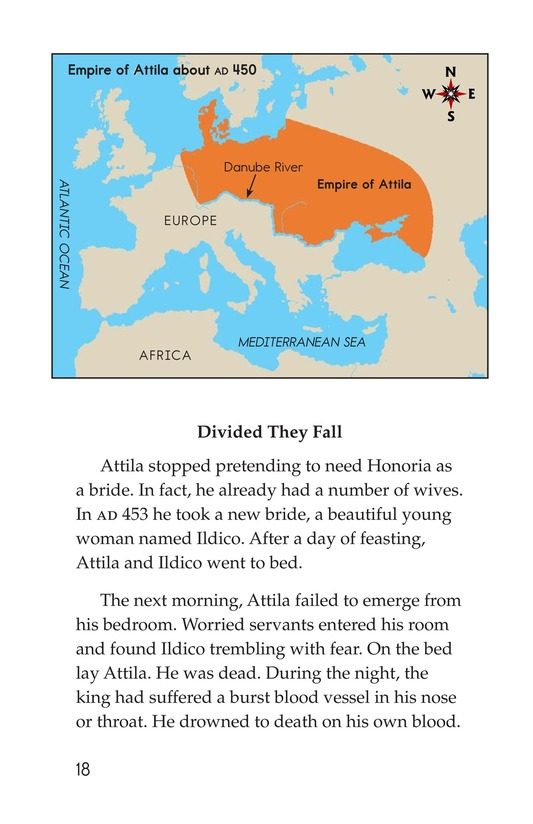 Book Preview For The Roman Empire Faces Attila Page 18
