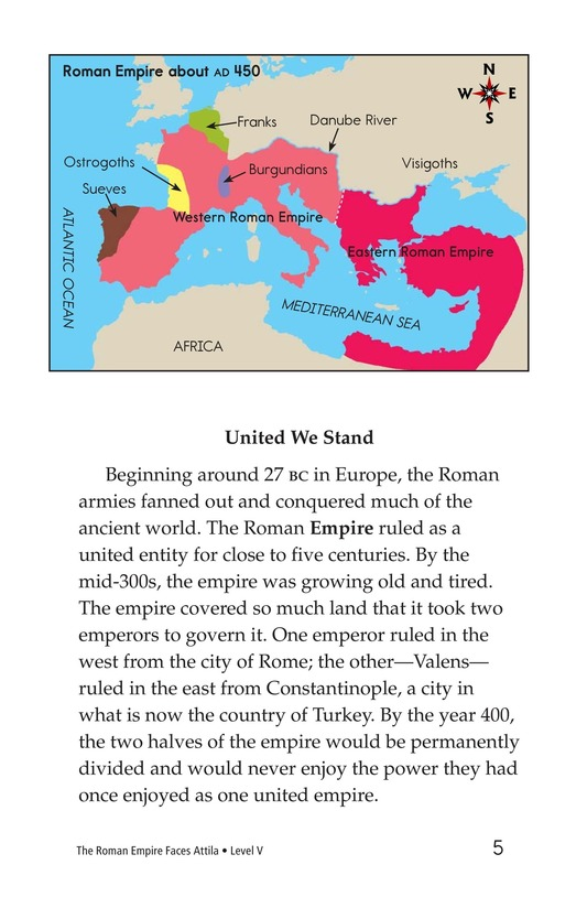Book Preview For The Roman Empire Faces Attila Page 5