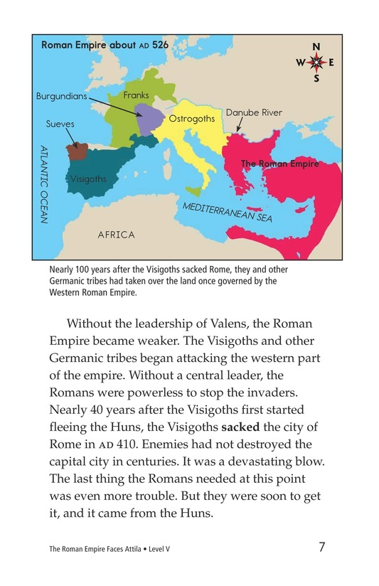 Book Preview For The Roman Empire Faces Attila Page 7