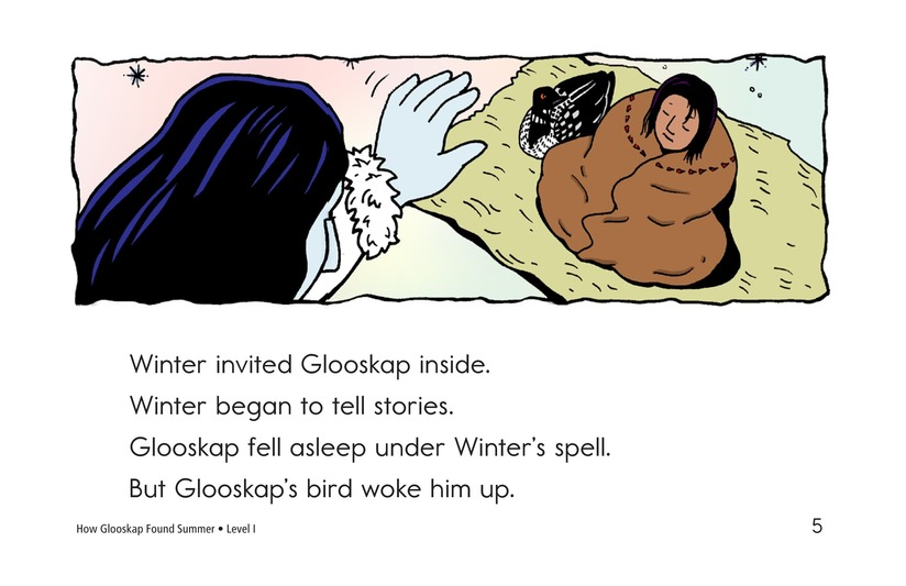 Book Preview For How Glooskap Found Summer Page 5