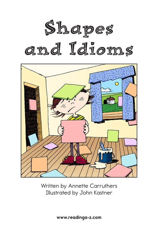 Book Preview For Shapes and Idioms Page 2