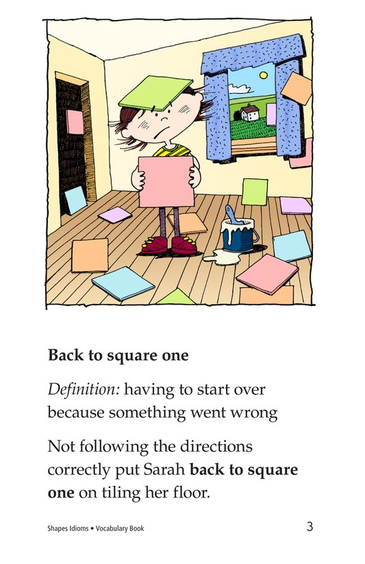 Book Preview For Shapes and Idioms Page 3