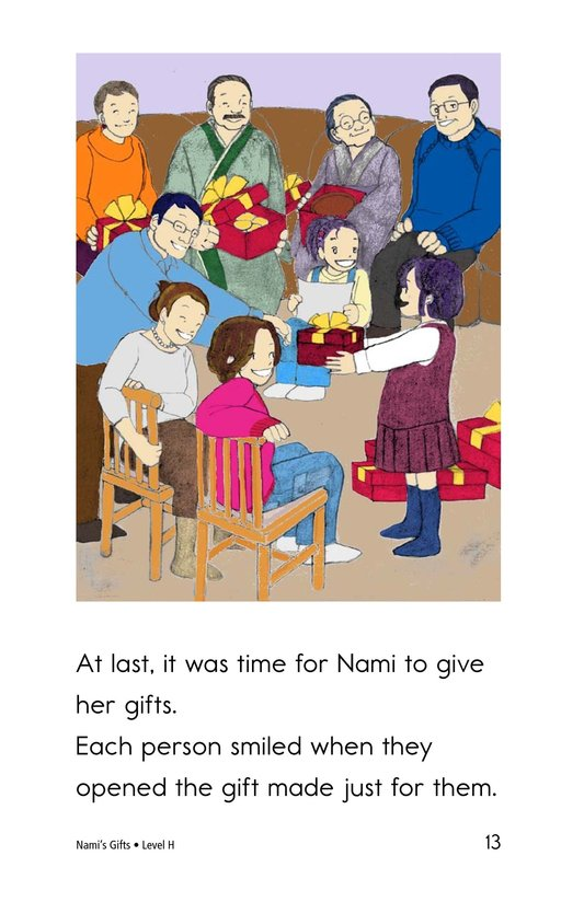 Book Preview For Nami's Gifts Page 13