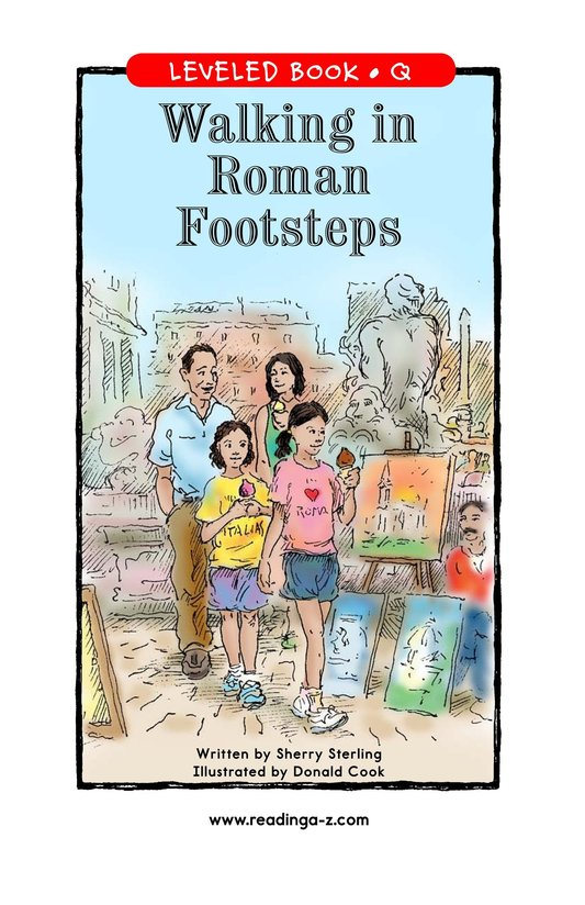 Book Preview For Walking in Roman Footsteps Page 1