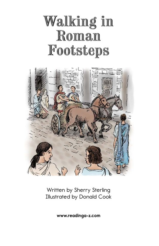 Book Preview For Walking in Roman Footsteps Page 2