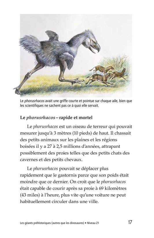 Book Preview For Prehistoric Giants (Other Than Dinosaurs) Page 17