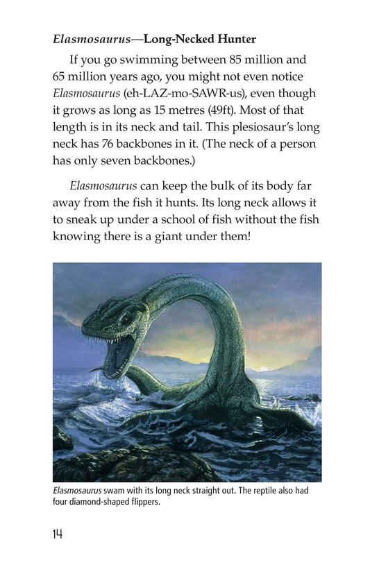 Book Preview For Prehistoric Giants (Other Than Dinosaurs) Page 14