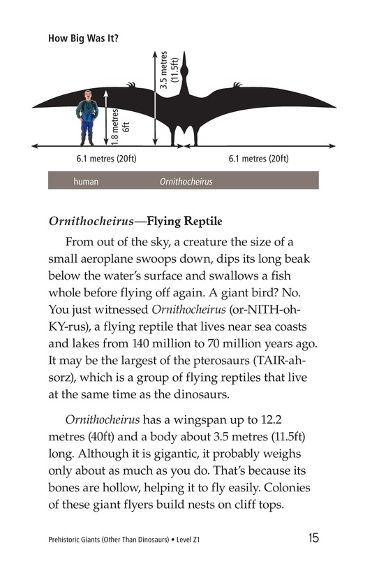 Book Preview For Prehistoric Giants (Other Than Dinosaurs) Page 15