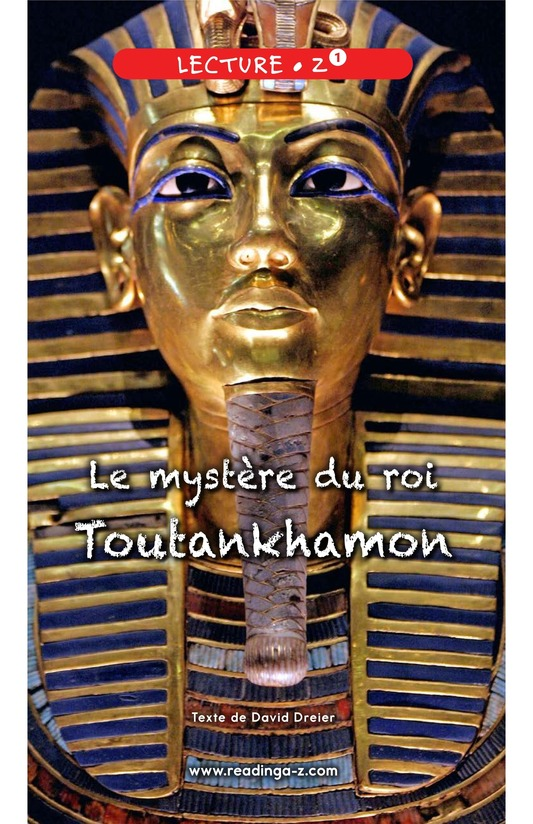 Book Preview For The Mystery of King Tut Page 0