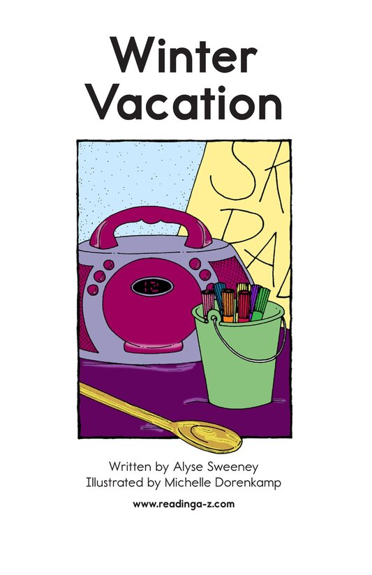 Book Preview For Winter Vacation Page 2