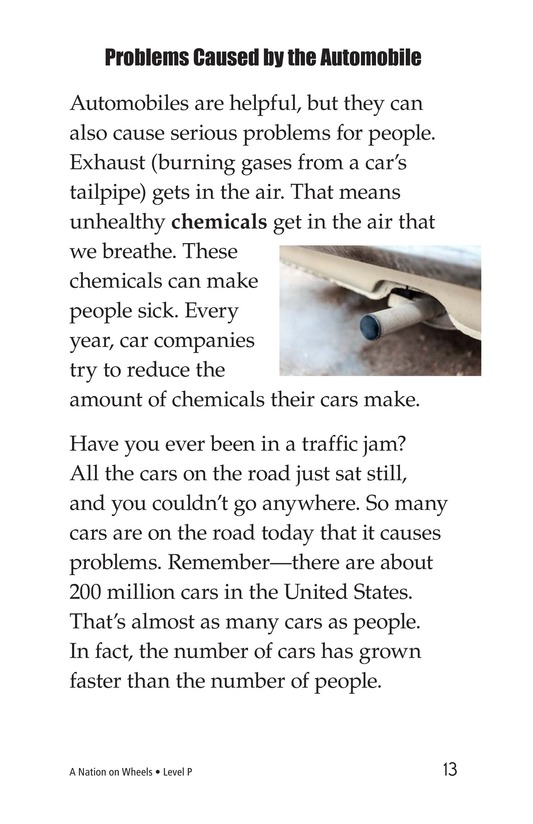 Book Preview For A Nation on Wheels Page 13