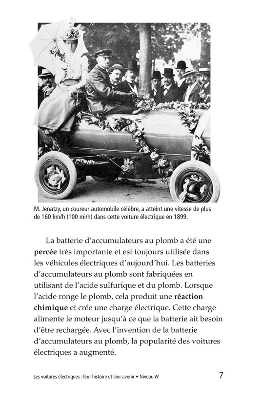 Book Preview For Electric Cars: History and Future Page 7