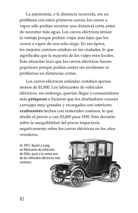Book Preview For Electric Cars: History and Future Page 10