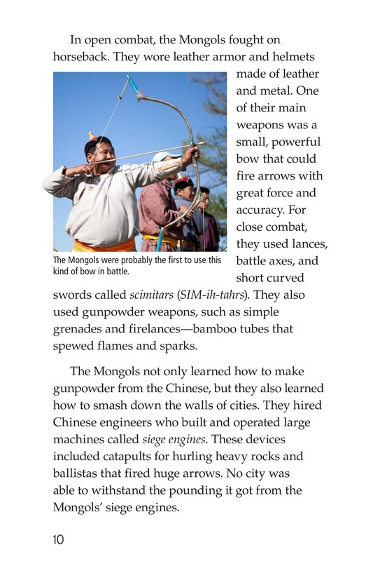 Book Preview For The Mongol Empire Page 10