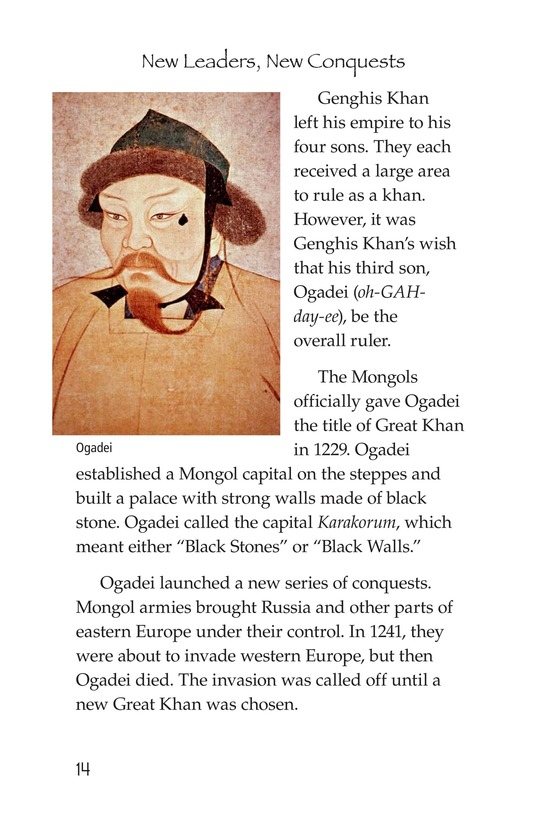 Book Preview For The Mongol Empire Page 14