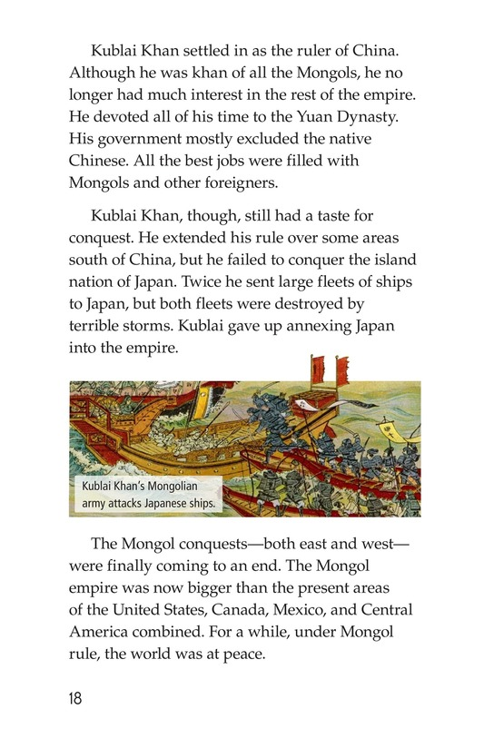 Book Preview For The Mongol Empire Page 18