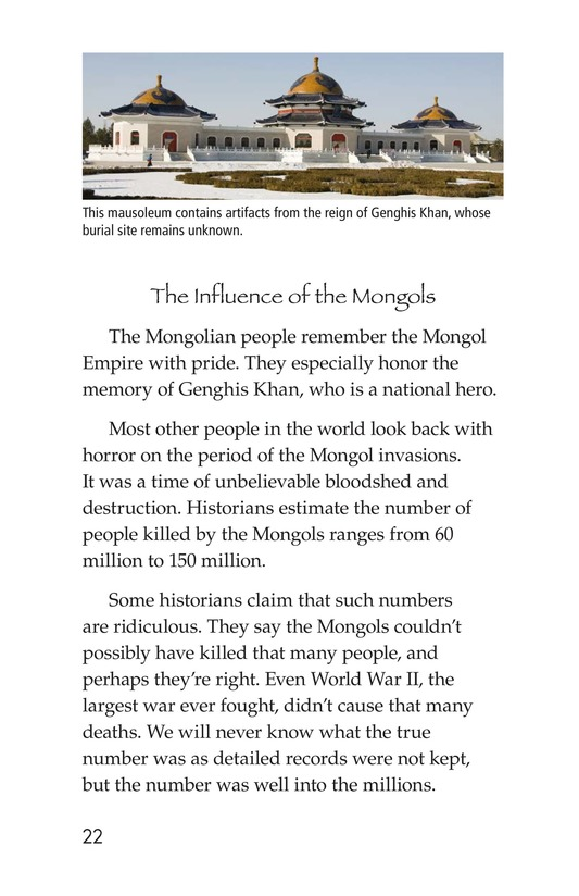 Book Preview For The Mongol Empire Page 22
