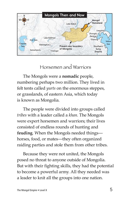Book Preview For The Mongol Empire Page 5
