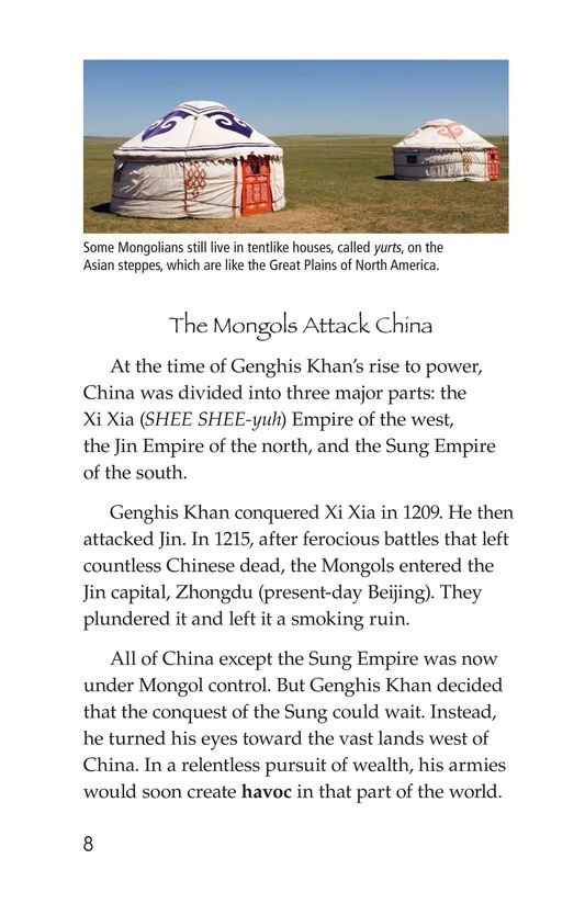 Book Preview For The Mongol Empire Page 8