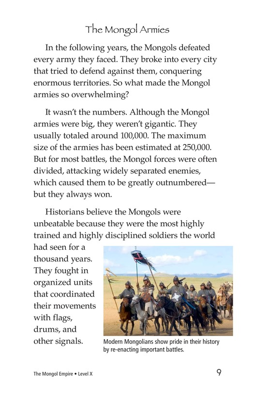 Book Preview For The Mongol Empire Page 9