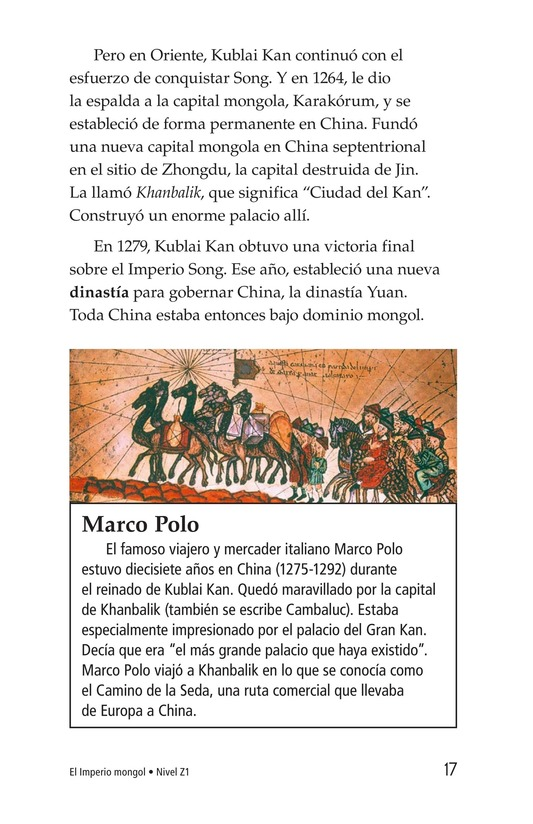 Book Preview For The Mongol Empire Page 17