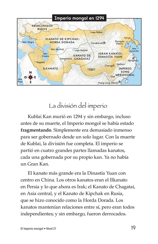 Book Preview For The Mongol Empire Page 19