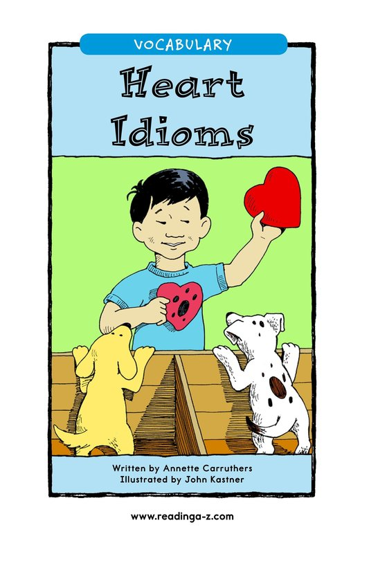 Book Preview For Heart Idioms Page 1