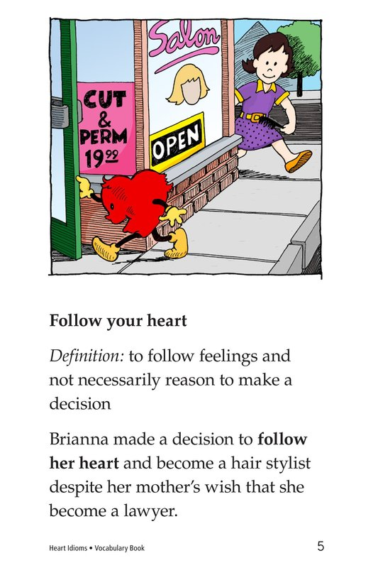 Book Preview For Heart Idioms Page 5