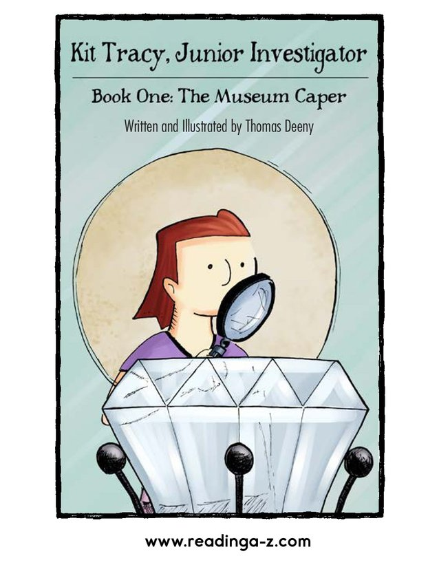 Book Preview For Kit Tracy, Junior Investigator: The Museum Caper Page 1